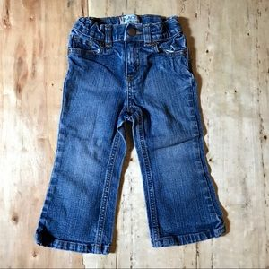 Children's place toddler girl jeans-sz. 24mo.